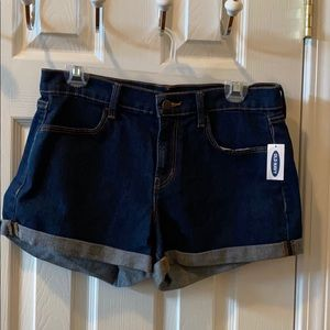 NEW! Old Navy Jean shorts size 6